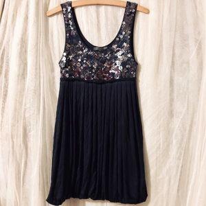 F21 ~ Navy Blue Sequin Dress ♡